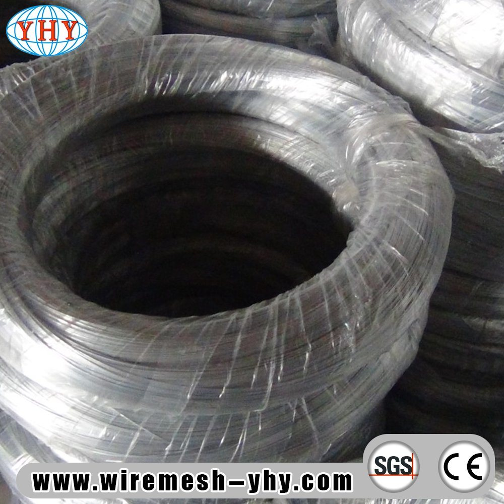China Low Carbon Galvanized Wire for Woven Wire Mesh Photos ...
