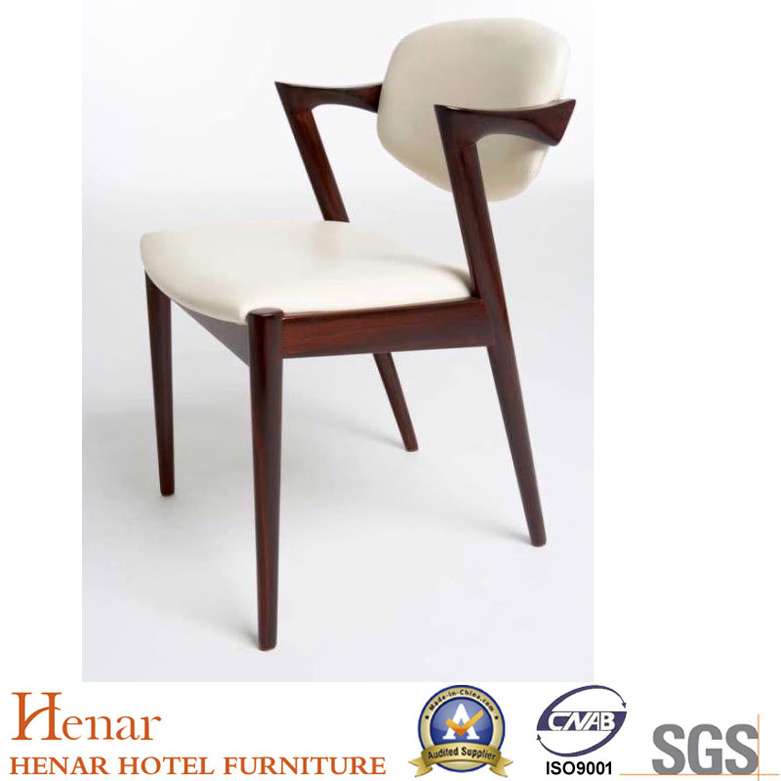 Hot Item Commercial Grade Restaurant Bar Cafe Solid Wooden Dining Chair