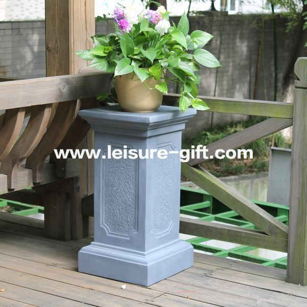 China Fo 181 Fiberglass Flower Stand Planter Stands