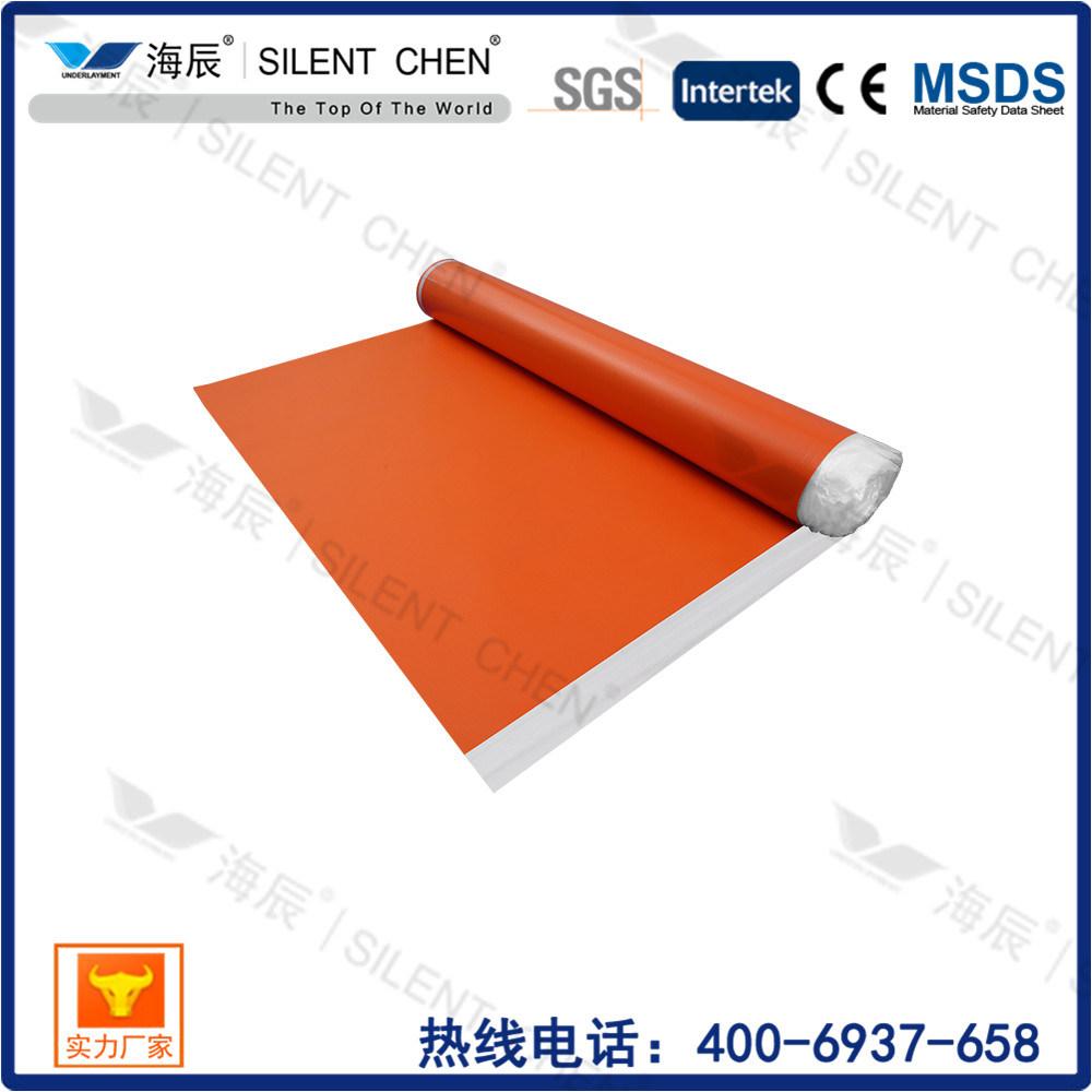 China Ixpe Foam Carpet Underlay With Pe For Laminate Flooring Moisture Proof Insulation
