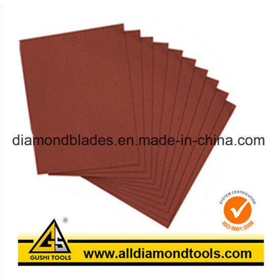 E-Wet/D-Wet Silicon Carbide Hook & Loop Sanding Sheet pictures & photos