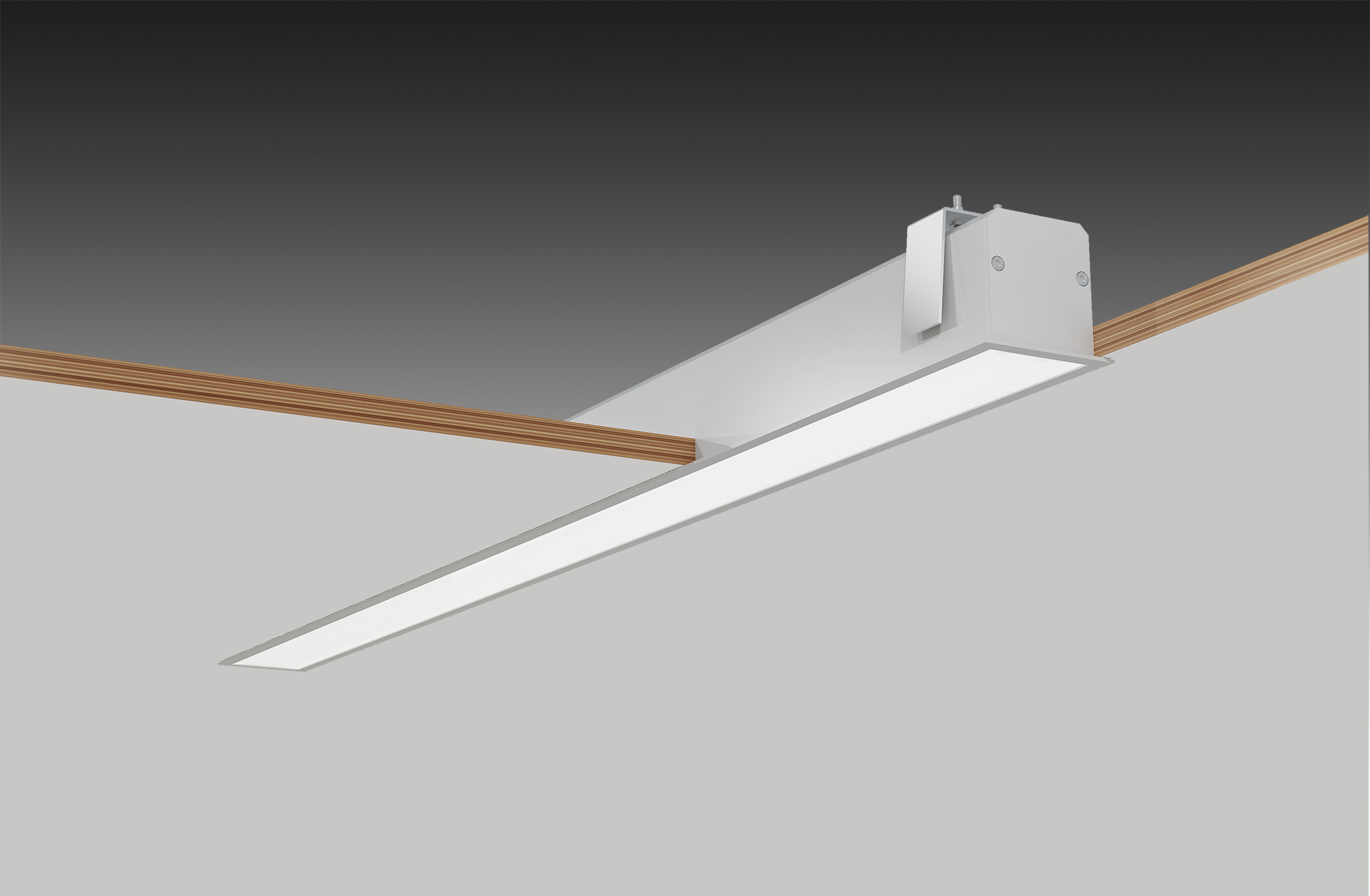 Hot Item Ceiling Embedded Install Linear Light Recessed For Office