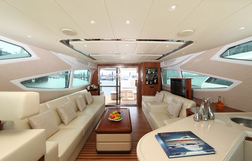 Seastella 63FT Luxury Yacht with Flybridge