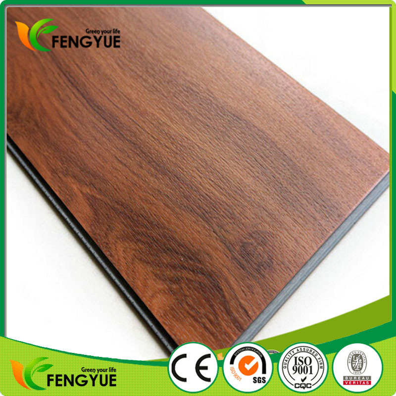 5.0mm Thickness Commercial Waterproof Click Vinyl PVC Floor Tile pictures & photos