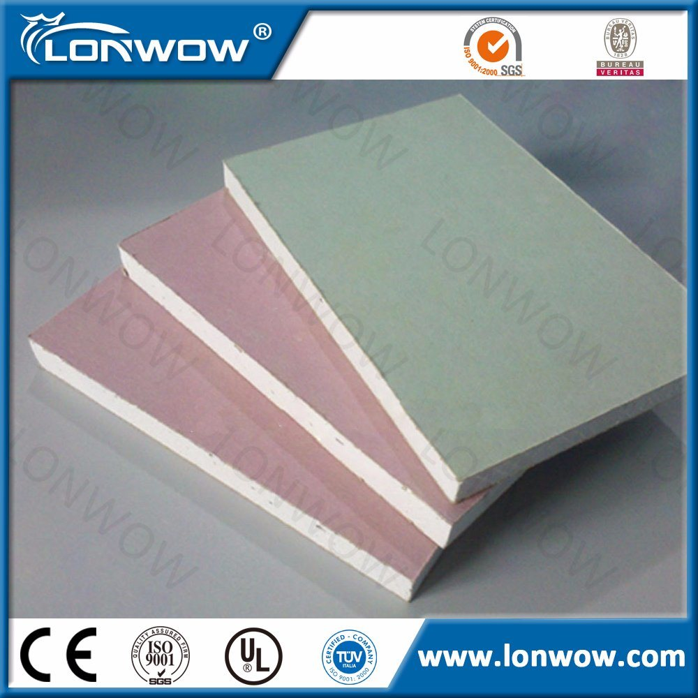 China gypsum board false ceiling specification