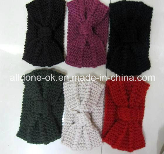 Custom Fashion New Design Hand Knitted Ladies Headband Neckwarmer Turban pictures & photos