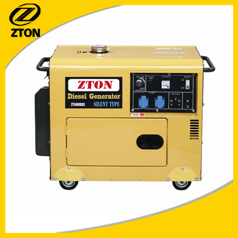 Silent (Soundproof) Portable Electric Diesel Generator