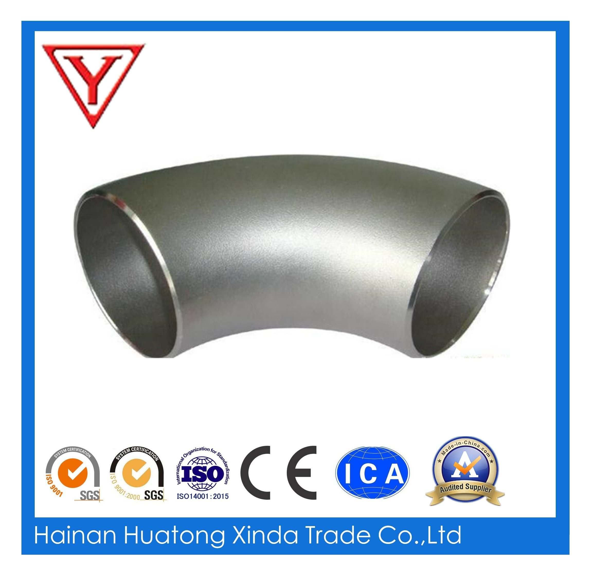 Stainless Steel 316 Fittings Elbow Welded Pipe