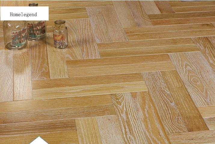 China Oak Parquet Flooring Herringbone Multiply Engineered Wood