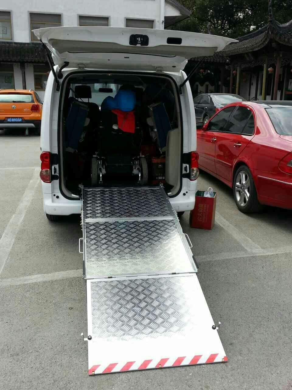 d76d4d47b1 China Wheelchair Loading Ramp for Van Aluminum Platform Photos ...