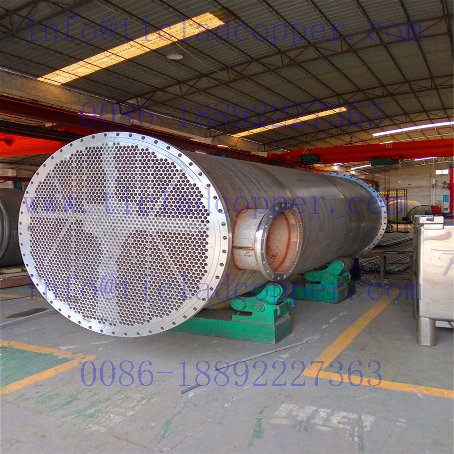 Stainless Steel Tube Sheel Heat Exchanger pictures & photos