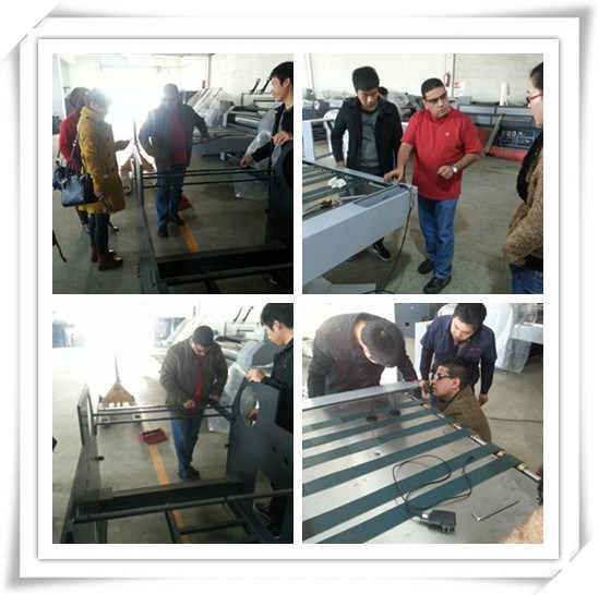 Sguv-660A Automatic Coating Machine for Paper Water Base Laminating Machine UV Coating Machine pictures & photos