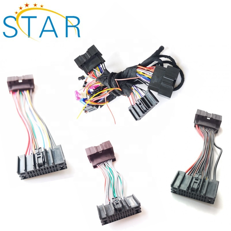 China Automotive 24 Pin Radio ISO Wire Connector Stereo Wire Harness for  Ford Vehicles - China 24 Pin Radio Wire Harness, Stereo Wire HarnessShanghai Star Electronic Technology Co., Ltd.