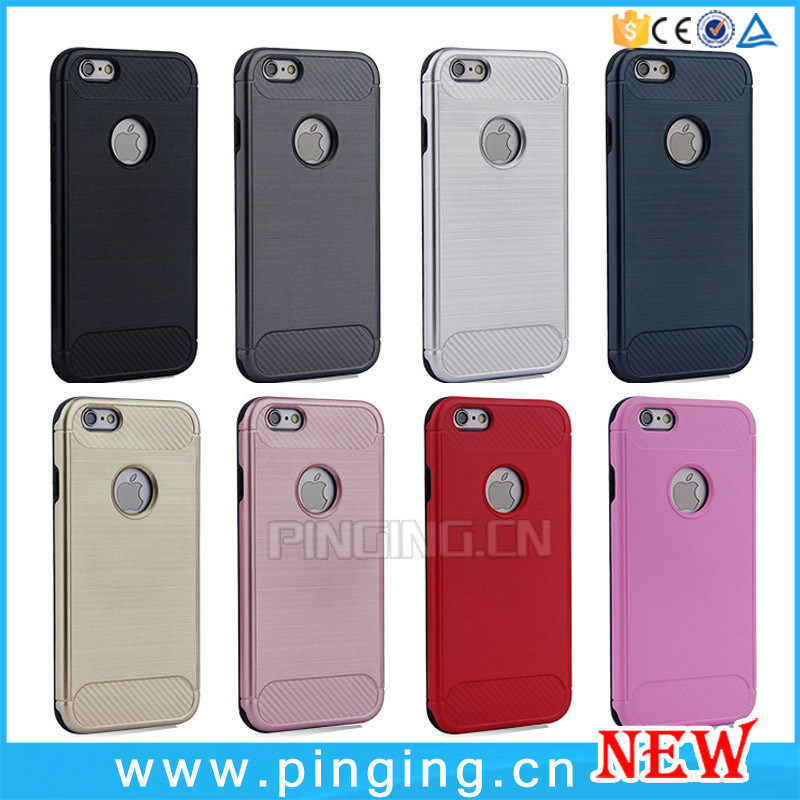 newest ccbd6 3fe4a [Hot Item] Hybrid Slim Armor Cases for iPhone 5 6 6s 7 Plus Case