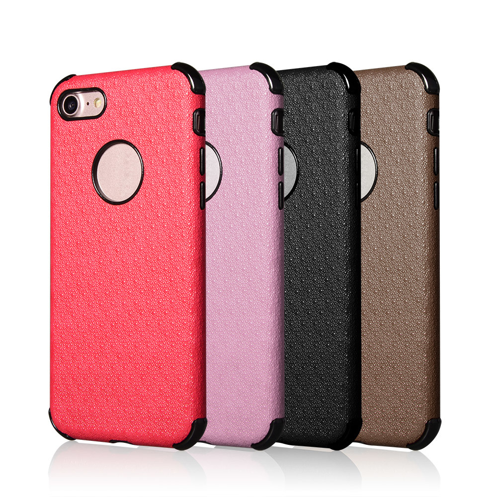 buy popular ab065 26a46 [Hot Item] OEM Design Colorful TPU+PU Leather Back Cover Case for iPhone 6  Plus/I7/I6s
