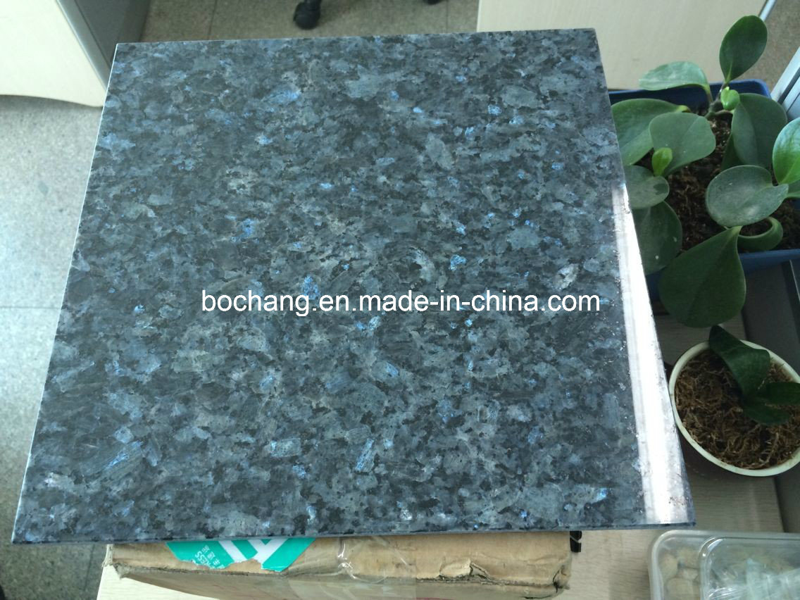 China Natural Blue Pearl Granite Floor Tile For Flooring Tile