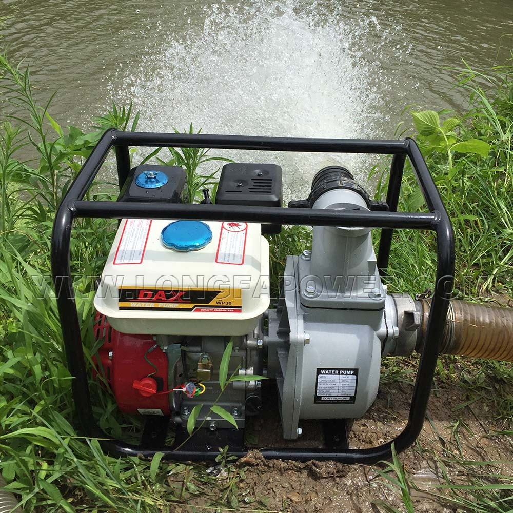 Wp30X 3inch 80mm Gasoline Water Pump for Iraq Market pictures & photos