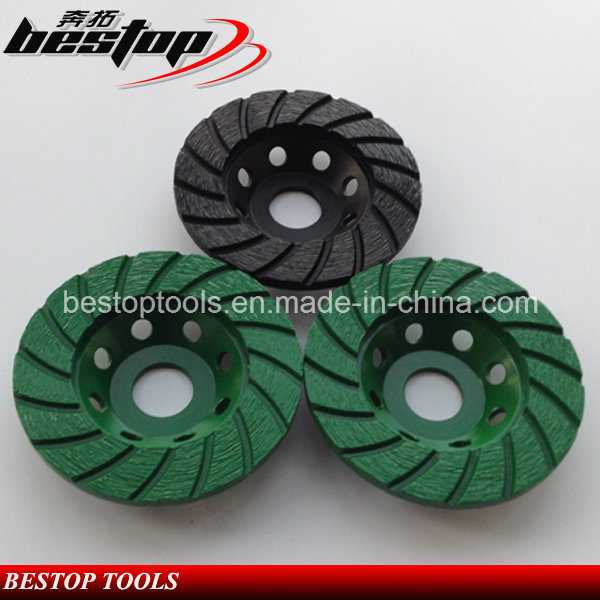 Metal Bonded Diamond Cup Grinding Wheel for Granite/Marble Stone/Concrete Polishing