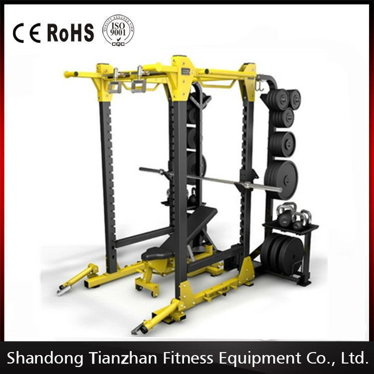 Gym Equipment Weight Lifting Hammer Strength Hd Tz 6073 Power Rack China Tzfitness Commercial Fitness