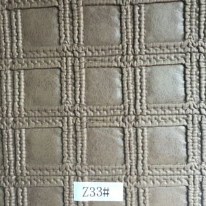Synthetic Leather (Z33#) for Furniture/ Handbag/ Decoration/ Car Seat etc
