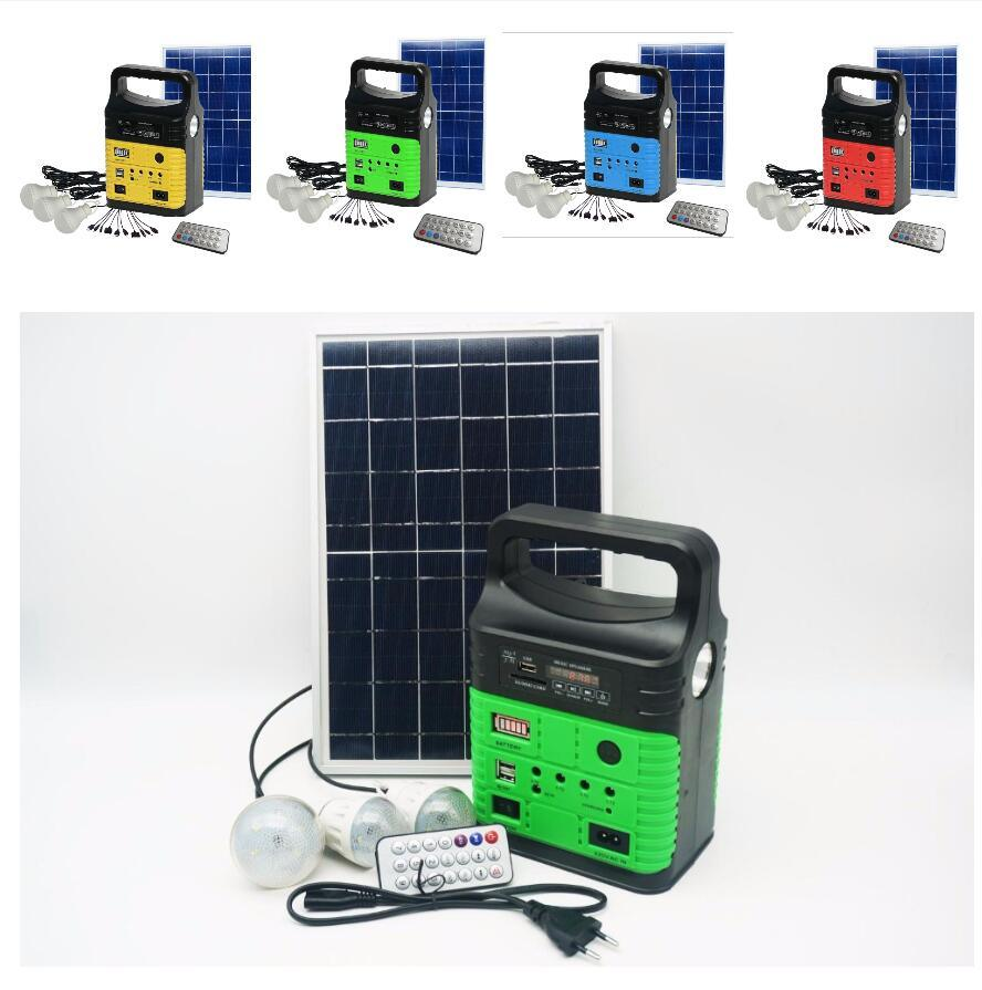 China DC off-Grid Solar Energy Lighting System with Phone Charger ...