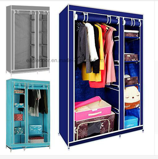 Superbe Wardrobe Closet Large Simple Wardrobewardrobe Cabinets Simple Folding  Reinforcement Receive Stowed Clothes Store Content Ark (FW 25)