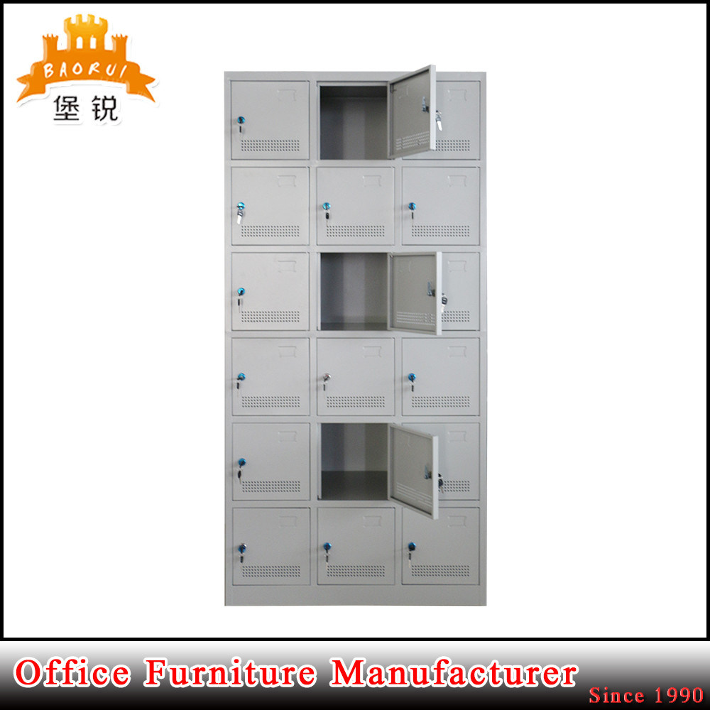 Cheap Steel Storage Metal Clothes Wardrobes pictures & photos