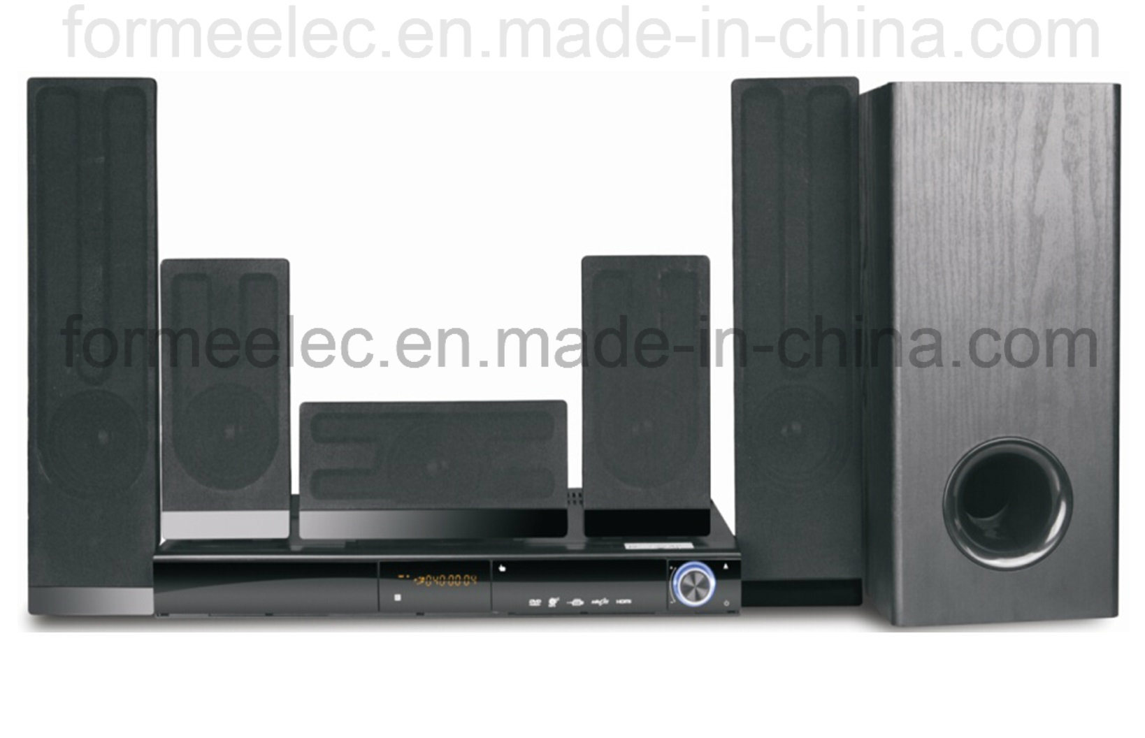 5.1CH DVD Home Theater with Subwoofer RMS105W