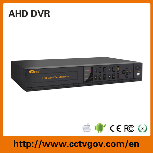 720p 960p 4CH Ahd Digital Video Recorder H. 264 DVR