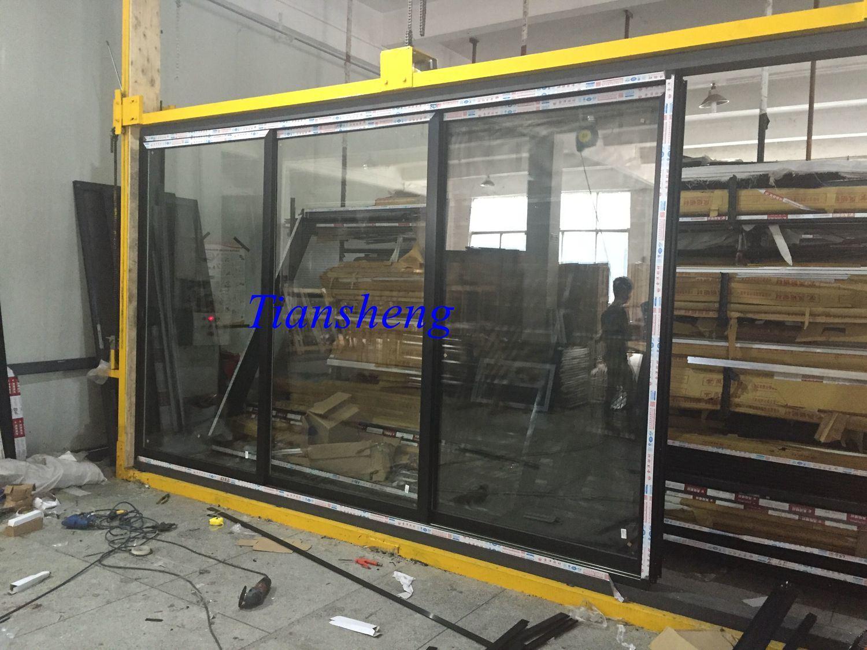 China Five Tracks Aluminum Stacker Doorsliding Doorentrance Door