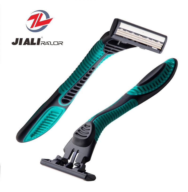 Great Shape Triple Blade Disposable Razor (SL-3102TL) Shaving Blade pictures & photos