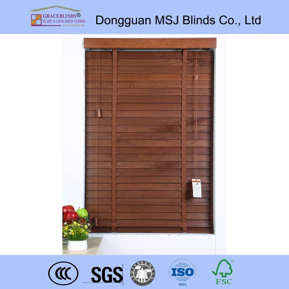 50mm Promotional Basswood Venetian Blinds