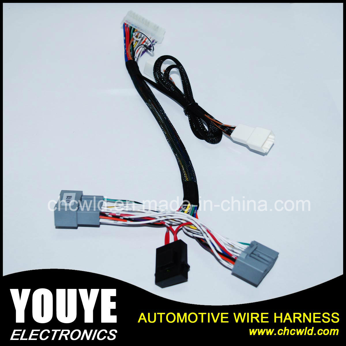 China Automotive Multi-Function Wiring Harness for Honda Crider CRV - China  Power Windon Wire Harness, Electrical Cable