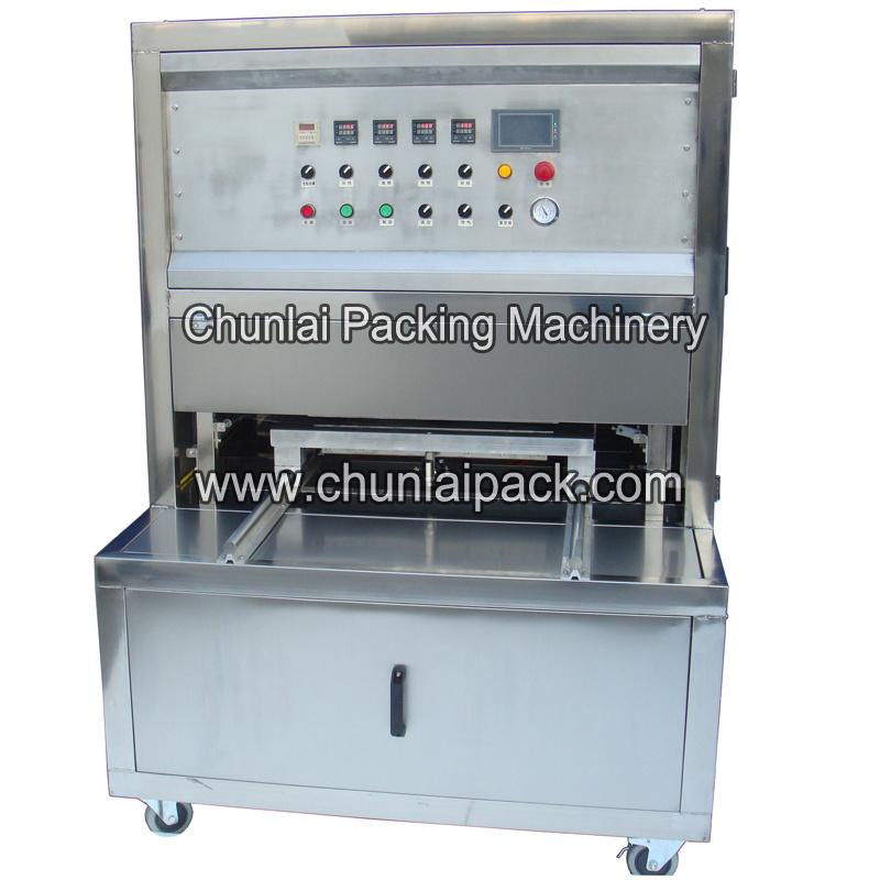 191d0989960 Kis-4 Nitrogen Flushing Box Sealer Machine Map Container Sealing Vacuum Gas  Flushing Machine