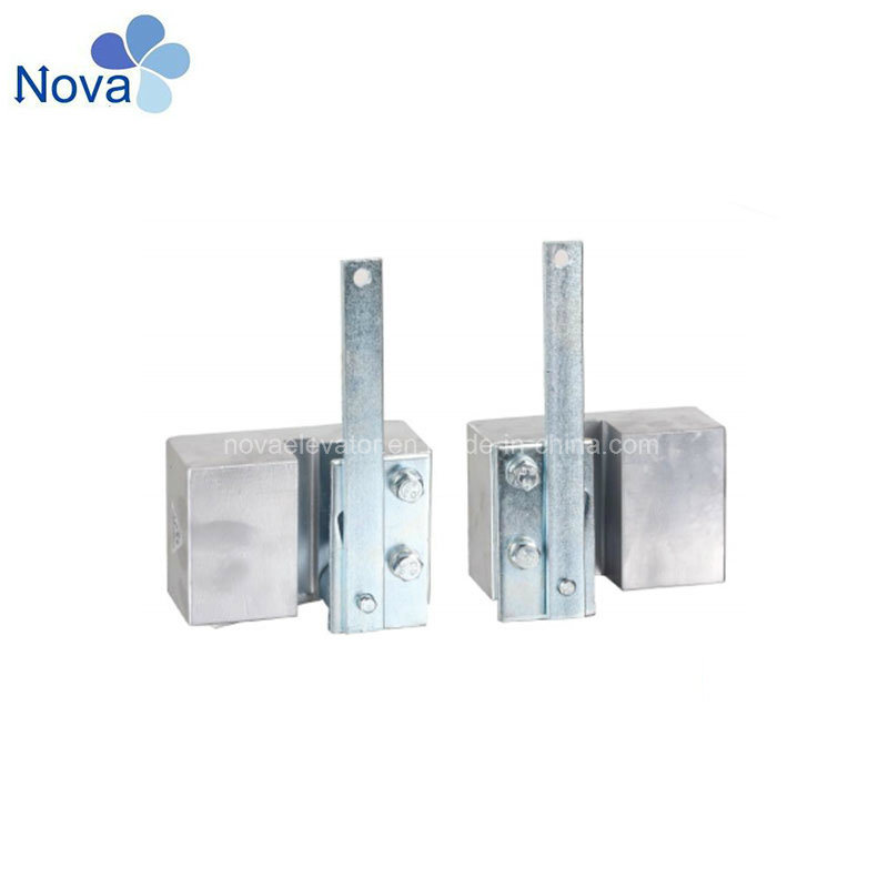 China Elevator Parts Progressive Safety Gear Width of Guide Rails
