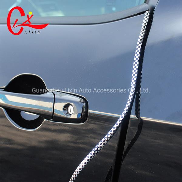 15M U Shaped Chrome Moulding Trim Strip Car Door Edge Guard Protector Cover