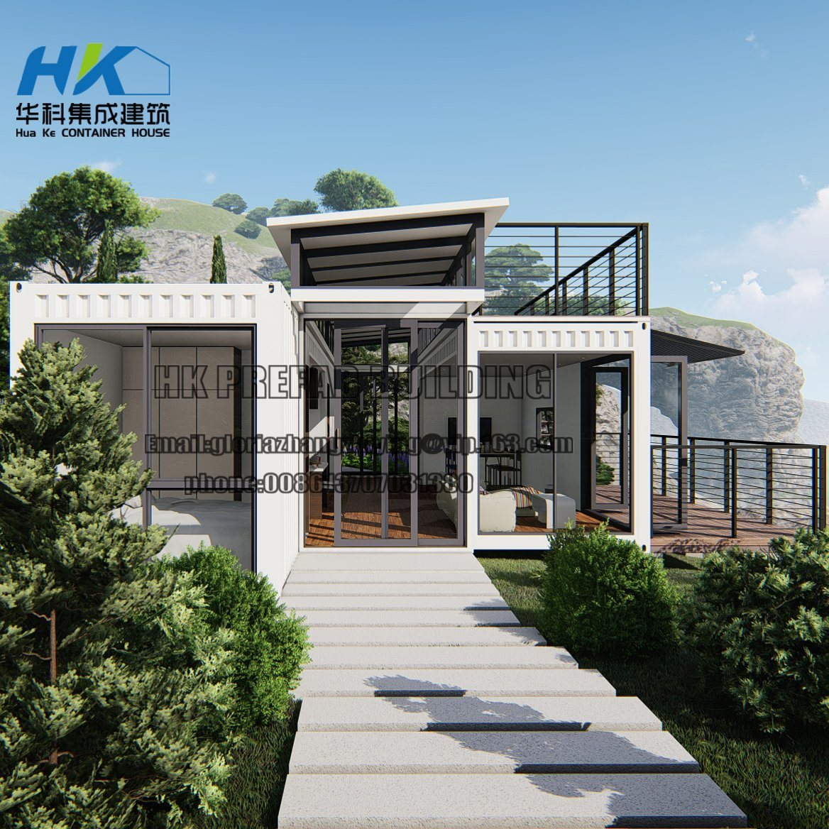 Modern Shipping Container Home [hot item] high quality modular prefab/ prefabricating modern design  shipping container house