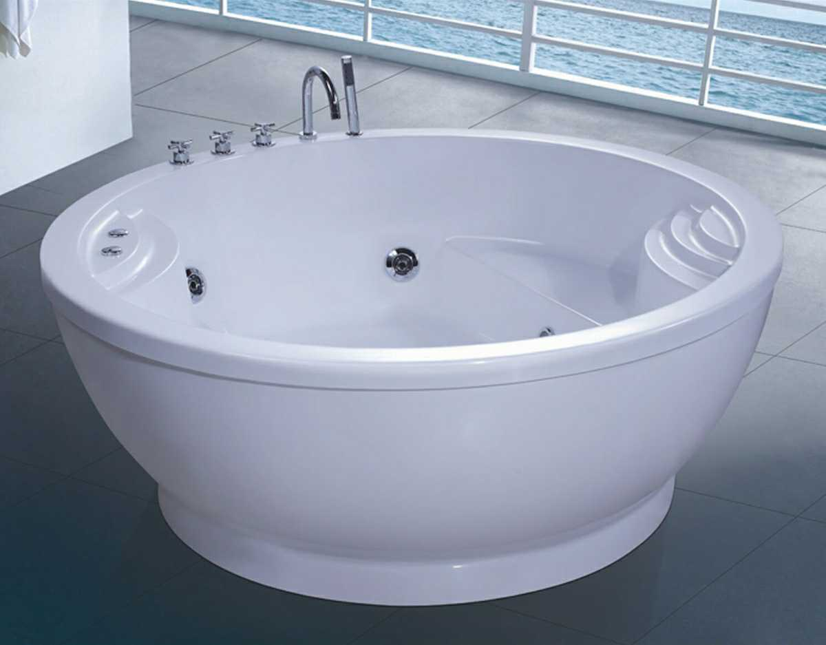 China 1600mm Round Jacuzzi with Ce and RoHS (AT-0914) - China SPA ...