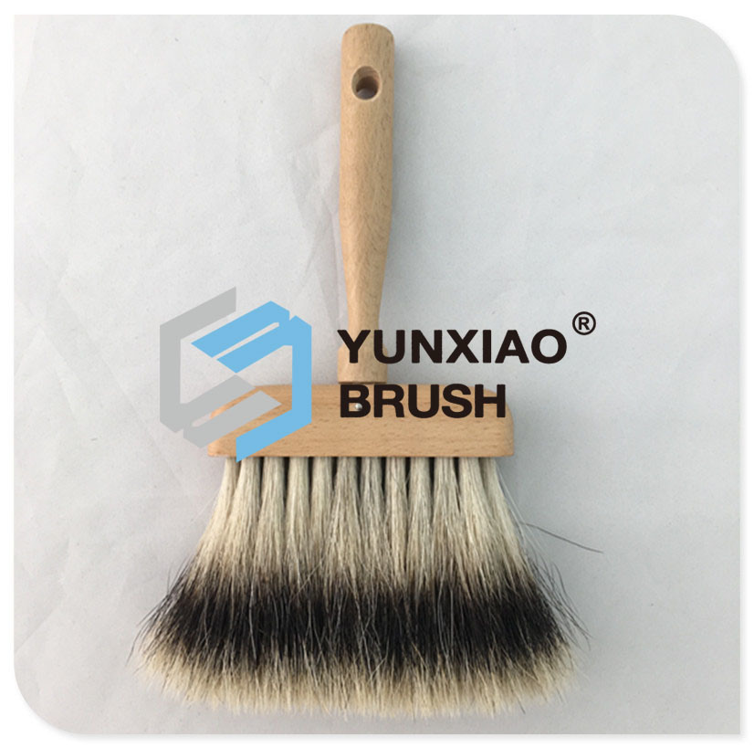 Pure Bristle Ceiling Brush with Wood Handle Paint Brush pictures & photos