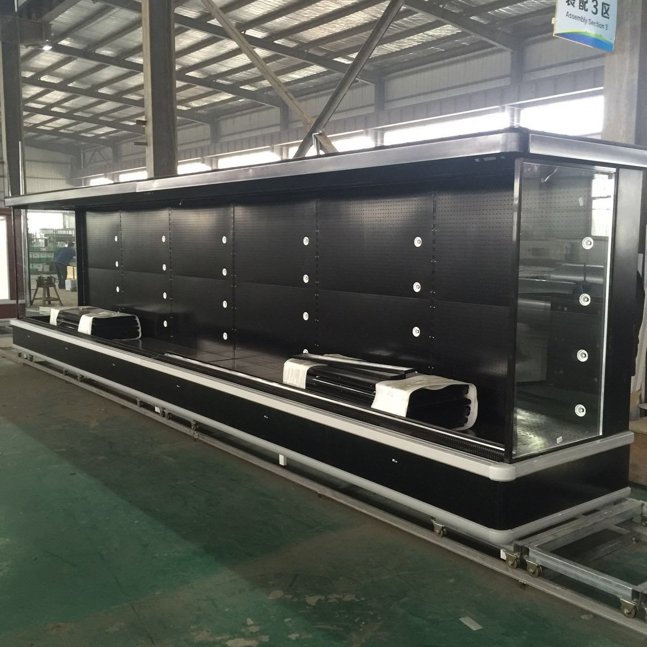 Ce/FCC Certification Commercial Dairy Produce Display Chiller/Refrigerator