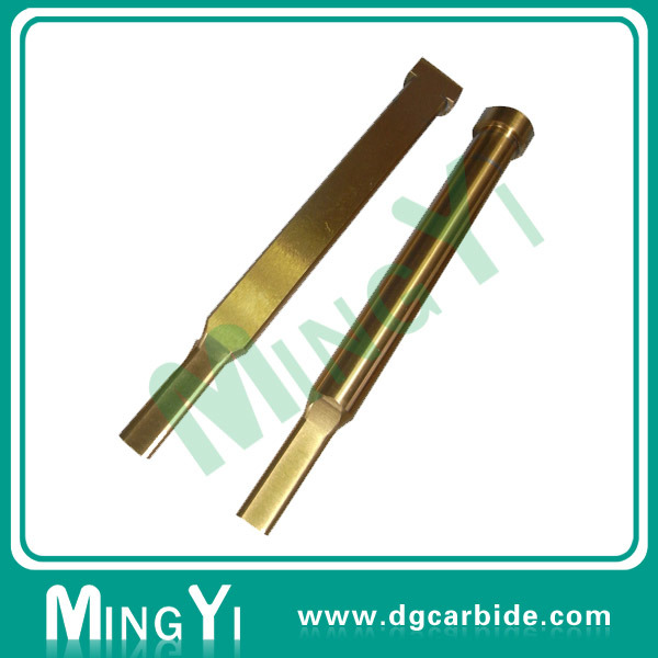 Half Tin Ticn Coating HSS Tungsten Carbide Punch for Stamping Parts