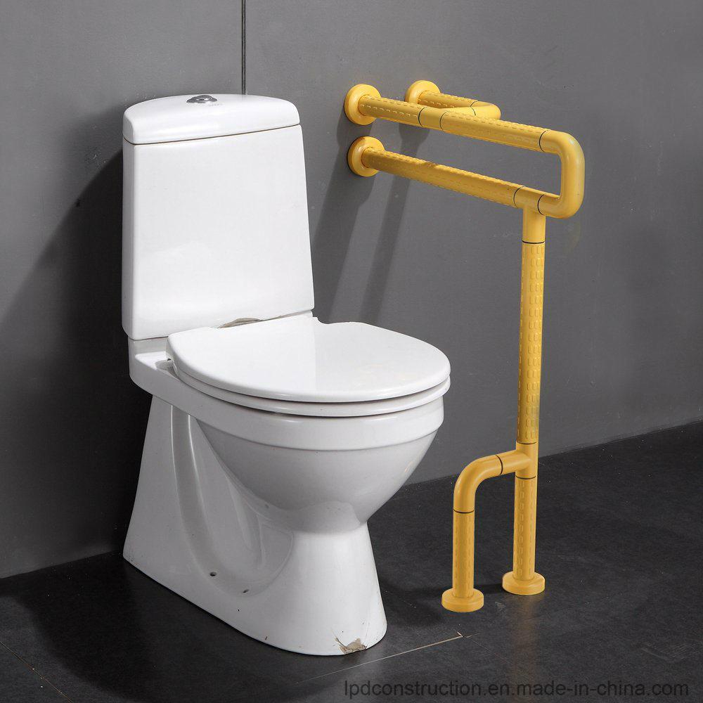 China Wall to Floor Bathroom Grab Rails Elderly Disable Toilet ...