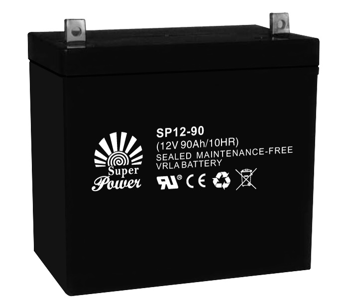 UPS Battery 12V 90ah with CE UL ISO9001 Certificated (SP12-90)