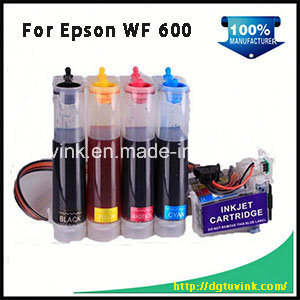 Inkjet Printer T0691 Inkjet Bulk Ink CISS for Epson Wf600 with Art Paper Ink