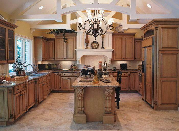 China Solid Maple Glaze Kitchen Cabinet (EM-M34) - China ...