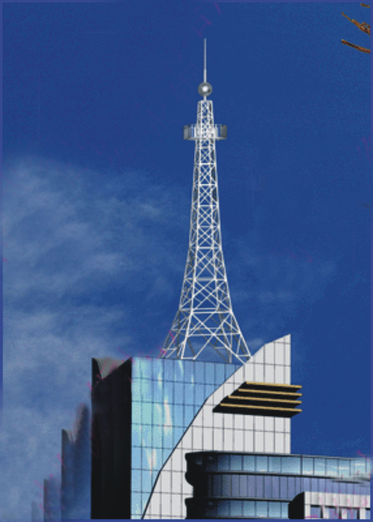 China Telecommunication Steel Tower China Gsm Celluar