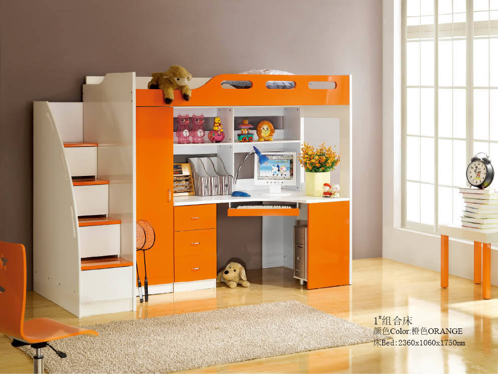 Do It Yourself Home Design: China Kids Bunk Bed (NF-20#)