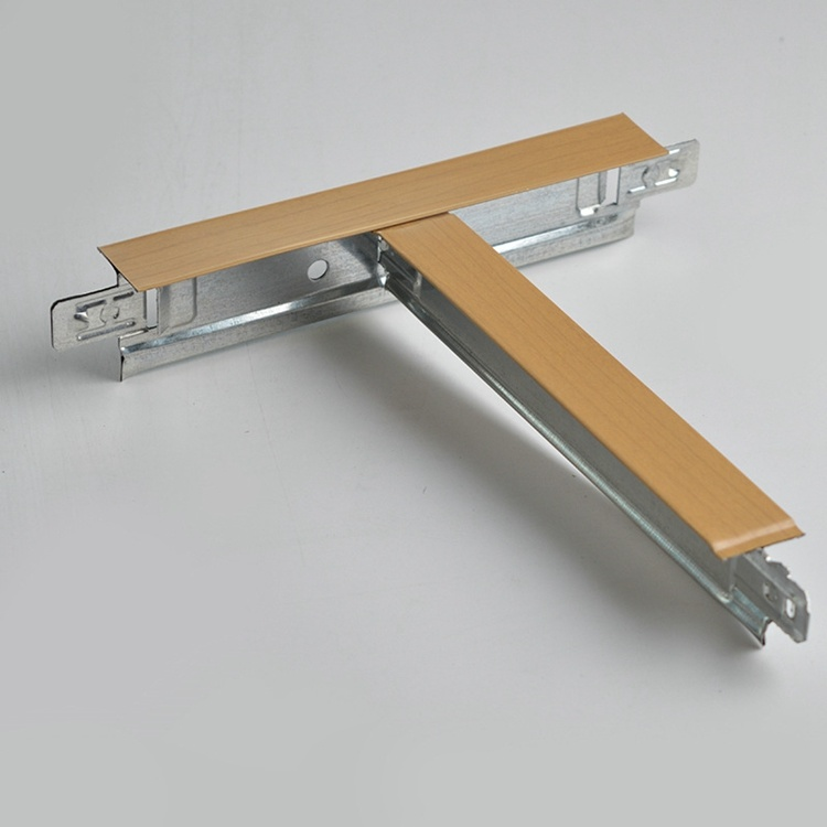 China Ceiling Tile Accessories Steel T Bar Suspended Ceiling