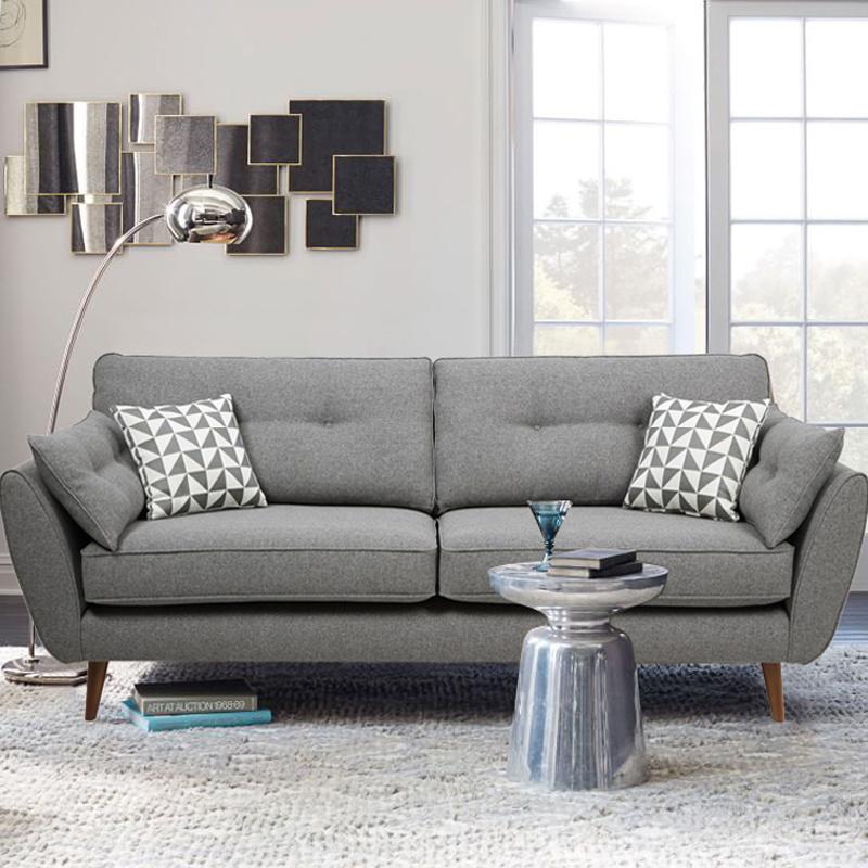 [Hot Item] Modern Home Italian Fabric Sofa Set for Living Room