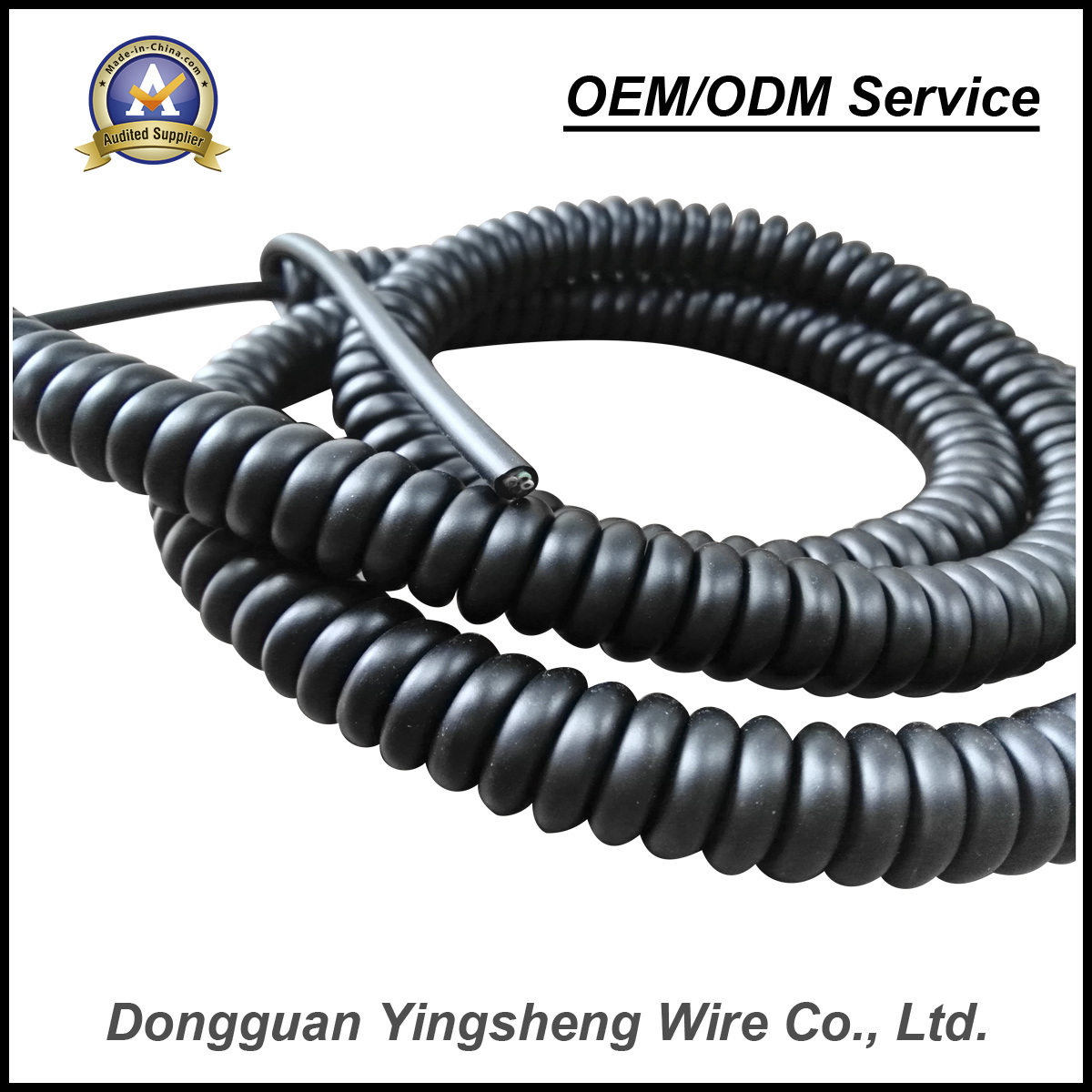 China High Quality Low Price TPU Pur Spiral Wire Spring Wire - China ...